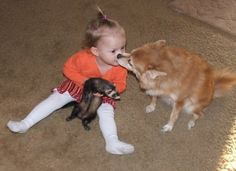 Kids + Pets = The Most Adorable Pics Of All Time (PHOTOS)
