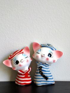 Ooh La La - Vintage French Sailor Beret Kittens
