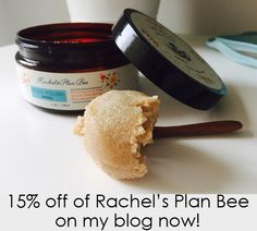 Find out why I'm loving these green beauty products and how you can get 15% off of your $40 purchase!  http://www.thegreenproductjunkie.com/oy-have-you-tried-rachels-plan-bee-do-eet-my-readers-get-15-off/