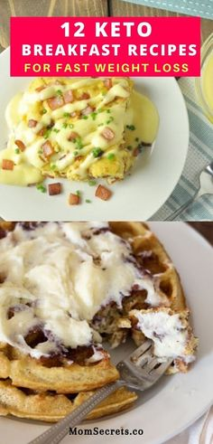 Are you looking for the best keto breakfast recipes to eat on your ketogenic diet? Here you' ll find the 12 easy keto breakfast recipes to lose weight. #ketobreakfast #weightlossrecipes #healthybreakfast