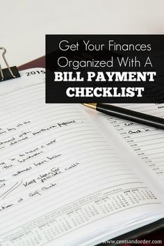 Get your finances organized with this free bill payment checklist. This easy tip will help you missed payments and late fees. Keep track of due dates and never forget a payment again. by goldie Ways To Save Money, Money Tips, Money Saving Tips, Financial Peace, Financial Tips, Budgeting Finances, Budgeting Tips, Bill Payment Checklist, Finance Organization