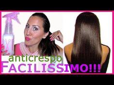 Tutorial CAPELLI Spray Lisciante ANTICRESPO Facilissimo!!! | CARLITADOLCE