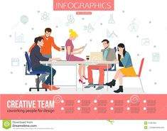 Office Reception, Lorem Ipsum, Creative, Design, Image, Characters, Business Meeting, Flat Design, The Office