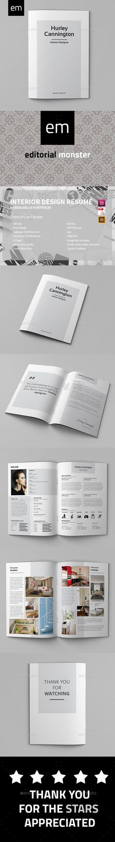 Claire Callis \/\/ Interior Design Resume Design Pinterest - interior design resume