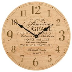 Personalized wall clock,Gift for parent,wooden wall clock,Delight yourself in the Lord,Modern wall clock Gift for grandparents Wedding Clock Anniversary Clock, Anniversary Gifts For Parents, Wedding Anniversary, Anniversary Ideas, Godparent Gifts, Personalized Mother's Day Gifts, Wall Clock Gift, Wall Clocks, Diy Clock
