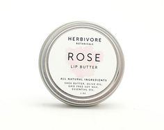 herbivore botanicals | rose lip butter.