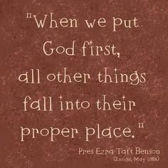 Matthew 6:33 I need to remember this! I have seen it and though I can't explain it, I know it to be true!