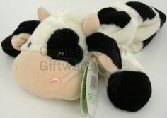 Mooty Flopet Cow Soft Toy @ gainsboroughgiftware.com