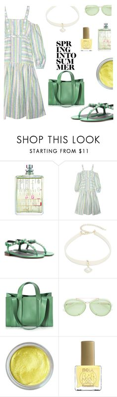 """""""Striped dress"""" by confusioninme ❤ liked on Polyvore featuring Escentric Molecules, Gül Hürgel, Balenciaga, Design Lab, Corto Moltedo, 3.1 Phillip Lim, Forever 21 and ncLA"""