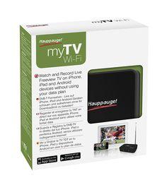 [CATALOGUE GÉNÉRAL 2015] myTV WiFi: Streamez la TNT HD sur votre smartphone / tablette Android. Streamez la TNT sur vos périphériques mobiles. Compatible Smartphone/Tablette Android et iOS. Suivez vos programmes préférés où que vous soyez. Préserve votre forfait mobile, n'utilise pas le réseau opérateur. RÉF. 01542 http://www.exertisbanquemagnetique.fr/info-marque/pctv