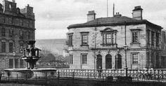 Old photograph of the Post Office in Dundee , Scotland .     All photographs are copyright of Sandy Stevenson, Tour Scotland, and may not b...
