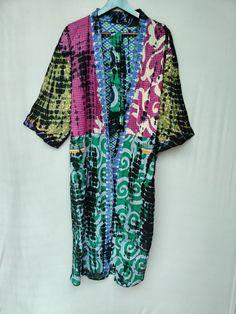 Cotton Pjs, Cotton Kaftan, Cotton Saree, Cotton Jacket, Cotton Quilts, Kimono Cardigan, Kimono Jacket, Kimono Dress, Indian Fabric
