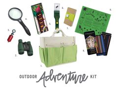 Let your kids explore the outdoors with complete adventure kit.