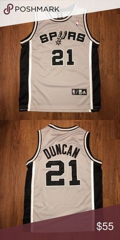 d7e149737 Spurs Tim Duncan Jersey - Size  Large Tim Duncan Spurs jersey Adidas Other  Adidas Men