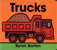 Trucks Board Book: Byron Barton: 9780694011643: Amazon.com: Books