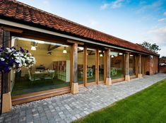 Cart Shed Conversion Building A Pool, Metal Building Homes, Building A House, Barn Conversion Exterior, Barn Conversions, Wooden House Design, Bungalow House Design, Log Home Plans, Barn Plans