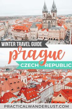 Winter Travel Guide to Prague. There are tons of things to do in Prague in winter, and plenty of Prague attractions are open (including Christmas Markets!) Here's a complete Prague winter travel guide for your trip to the Czech Republic. Europe Travel Guide, Travel Guides, Travel Destinations, Budget Travel, Travel Checklist, Cheap Travel, Spain Travel, Prague Things To Do, Prague Attractions