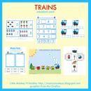 Train Preschool Pack product from LittleMonkeyPrintables on TeachersNotebook.com Free!