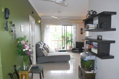 Furniture : Lovable Bachelor Pads Decors Ideas With Stylish Touch And Simple Grey Bachelor Sofa Bed On White Ceramic Floor Paired With Black Wooden Floating Shelves On White Wall Plus Green Wall Lovable Bachelor Pads Decors Ideas with Stylish Touch Bachelor Pad Bathroom Design. Bachelor Pad Room Ideas. Bachelor Pad Home Ideas.