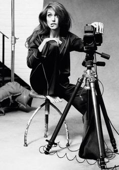 Angelina+Jolie+Self-portraits+with+a+Hasselblad+1