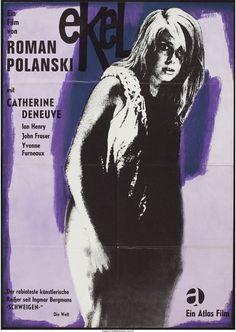 "Repulsion (Atlas Film, 1965). German A1 (23.5"" X 33"")."