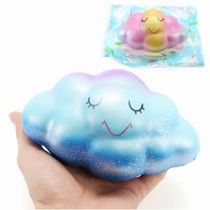 LeiLei Squishy Cloud Jumbo 16cm Slow Rising Original Packaging Scented Collection Gift Decor Toy