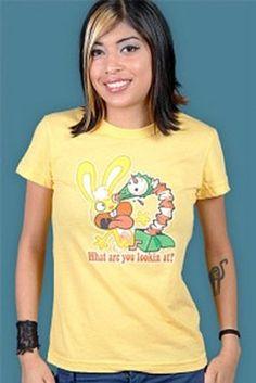 HAPPY TREE FRIENDS SHIRT XL cuddles cartoon retro discontinued hipster rabbit