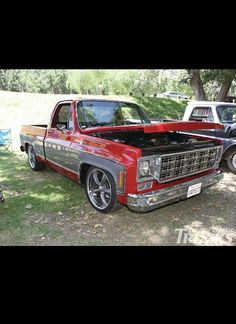 Simple and clean chevy c10