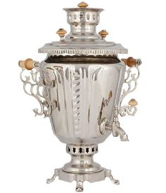 A samovar is a metal container used to heat and boil water in the home…
