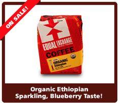 Organic, fair trade, delicious...