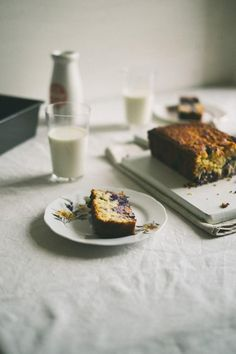 Blueberry & Coconut Buttermilk Bread | (Souvlaki For The Soul)