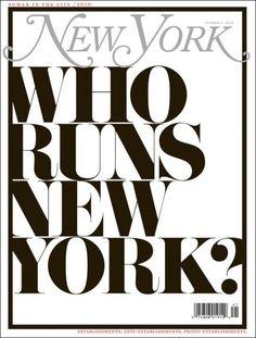 Type on New York Mag