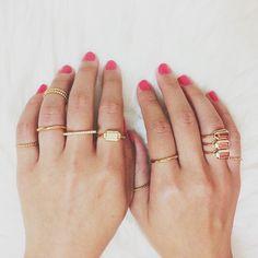 Prismera Ring Stacks  #bijoux #bijouxcreateur #france #paris #bijouxfantaisie #jewelry