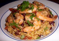 Kahakai Kitchen: Puerto Rican-Style Green Rice with Tomatillos (& Shrimp!)