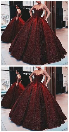 Ball Gown Wine Red Sequin Floor-Length Burgundy Quinceanera Dress Sweet 16 Dresses for Girls, Shop plus-sized prom dresses for curvy figures and plus-size party dresses. Ball gowns for prom in plus sizes and short plus-sized prom dresses for Red Wedding Gowns, Wedding Evening Gown, Evening Gowns, Modest Wedding, Dress Wedding, Wedding Unique, Wedding Suite, Casual Wedding, Wedding Outfits