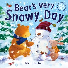 Join Bear on his snowy adventure and find out what surprise he has in store for all his special friends in this delightful book with sparkly snowflakes and an exciting pop-up ending! Best Christmas Books, Christmas Holidays, Caterpillar Book, Good Books, My Books, Snowy Day, Special Friends, Pop Up, Childrens Books