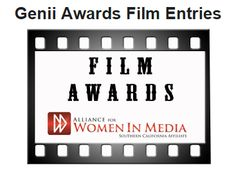 For the very first time, the Alliance for Women in Media, SoCal Genii Awards will present a separate award to celebrate the excellence of independent filmmakers. Submissions are currently being accepted in five film categories:  Documentary Short Narrative Short - Comedy Narrative Short - Drama Short Script - Comedy Short Script - Drama The Genii Awards benefit AWM SoCal's scholarship and educational programs. Have a short film or script? READ THE RULES AND SUBMIT NOW! #awmsocal