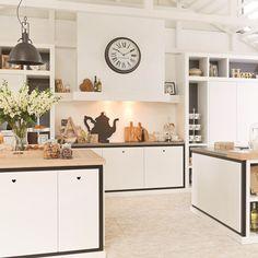 Landelijke keuken van Riverdale - Tieleman Keukens - keuken ideeën | UW-keuken.nl #keukens