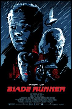 Signalnoise poster for BLADE RUNNER