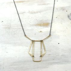 Scaffold Necklace  by fail