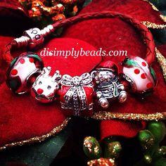Pandora Christmas bracelet                                                                                                                                                                                 More