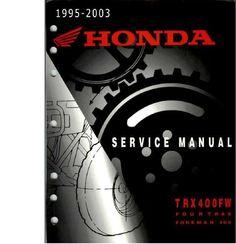 1999 2002 honda 400ex 400 atv service repair manual highly detailed rh pinterest com Honda TRX 250 Parts 2002 Honda Recon