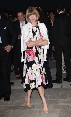 Anna Wintour attends the 'Il Mondo Vi Appartiene' dinner at Fondazione Cini on June 1, 2011 in Venice, Italy.