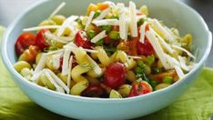 Get this all-star, easy-to-follow Spring Pasta Salad recipe from Jeff Mauro