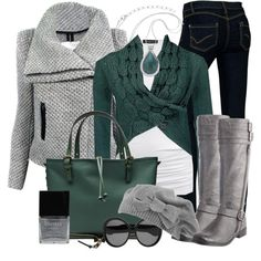 Winter Outfit for a Soft Summer