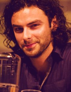 Aidan Turner. My gosh, this guy is sexy!