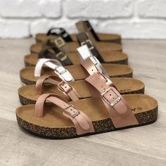 Choice of without shoes trainers, excellent for trek performing. Birkenstock Outfit, Barefoot Shoes, Leopard Fashion, Ankle Strap Flats, Cute Sandals, Espadrille Sandals, Water Shoes, Cheap Shoes, Womens Flats