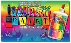 """""""SQUEEZY PAINT"""" illusion for children's entertainers & magicians from http://www.razamatazzmagic.com/magicshop_001/products.php?Product=741&Title=Squeezy_Paint_Illusion_%28Red%29"""