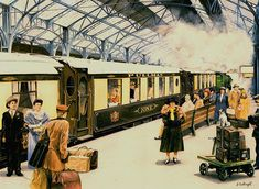 THE ORIENT EXPRESS PRINT G. CARTWRIGHT | Flickr - Photo Sharing!