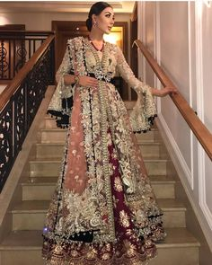 will open the show for today in London ⚘💕 Latest Bridal Dresses, Pakistani Formal Dresses, Pakistani Wedding Outfits, Indian Bridal Outfits, Pakistani Bridal Dresses, Pakistani Wedding Dresses, Indian Dresses, Indian Wedding Fashion, Indian Fashion